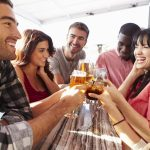 Mäßiger Alkoholkonsum erhält auch in den USA gute Noten