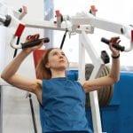 Auch der Rücken der Frau braucht das richtige Training