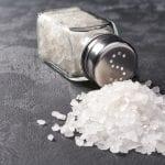 Zu viel Salz bekommt den Knochen nicht